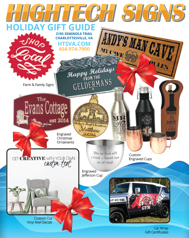 Charlottesville Holiday Gift Guide – Hightech Signs, Inc