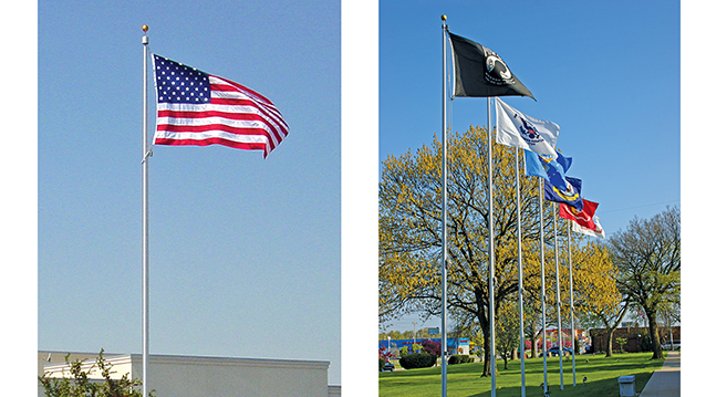 Flagpoles – Hightech Signs, Inc