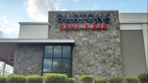 Burtons Grill Channel Letters