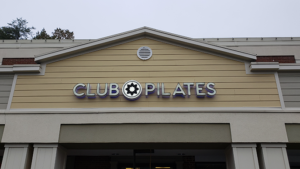 Club Pilates Channel Letters