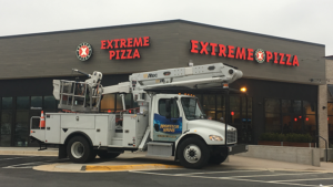 Extreme Pizza Channel Letters